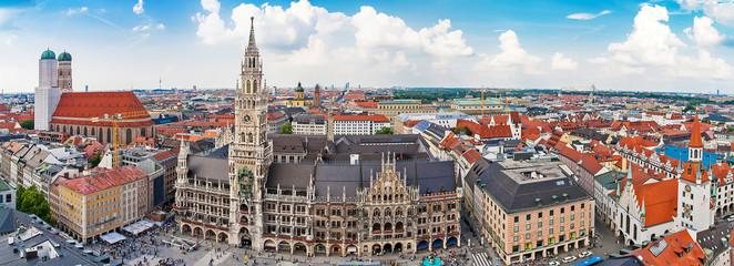 Panorama of Munich, Bavaria, Germany