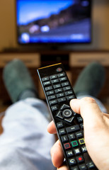 Switching TV channels