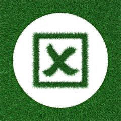 emblem selection from grass