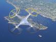 drone over Cape Cod - 74199753