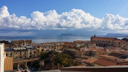 Vista del Golfo di Palermo