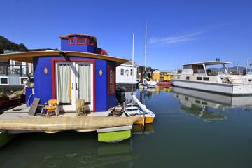 Houseboats Harbor, Sausalito