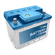 Automotive battery isolated - 74202780
