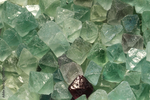 fluorite mineral collection - 74203365