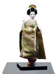 Image of japanese woman in festive clothing