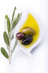 olio con olive