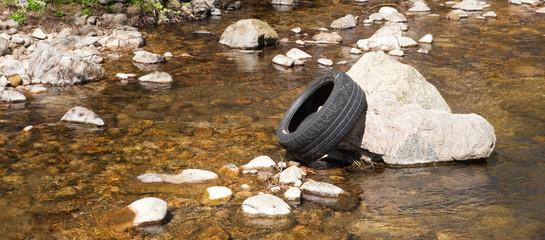 Le pneu, déchet industriel
