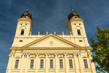 The Reformed Protestant Great Church In Debrecen, Hungary