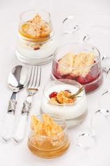 Celebratory meals of seafood