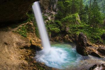 Upper Pericnik waterfall