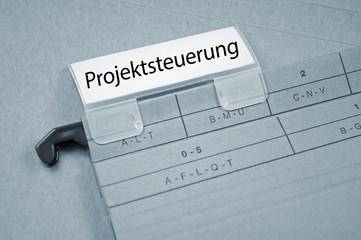 Ordner mit Projektsteuerung