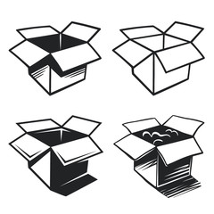 Boxes icons