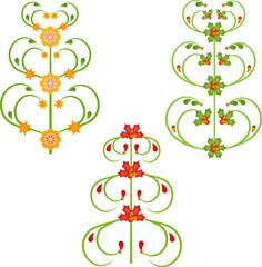 Christmas Trees Illustrations