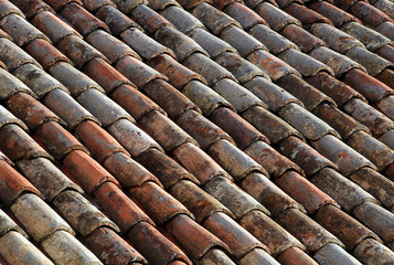 Weathered Tiled Roof