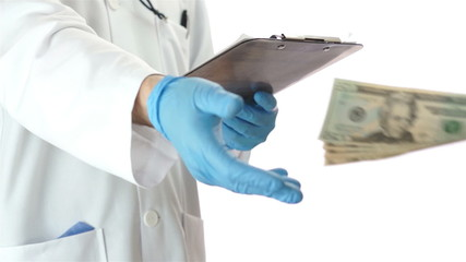 Doctor Gets Money From Patient