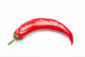 rote peperoni freigestellt