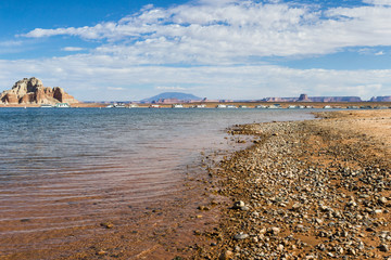 marina in Lake Powell