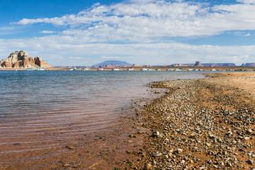 marina in Lake Powell