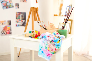 Professional art studio