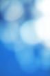 Blue Defocused Bokeh twinkling lights Vintage background. Festiv