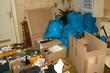 Leinwanddruck Bild - Wohnungsauflösung