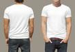 Leinwanddruck Bild - T-shirt template