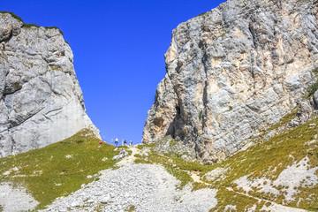 Steinernes Tor, Scharte im Bergkamm