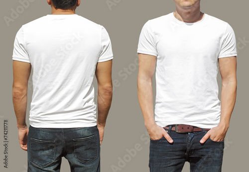 Leinwanddruck Bild T-shirt template