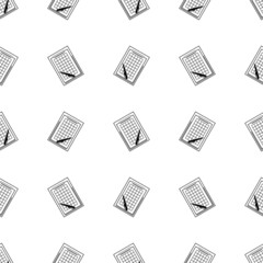 Monochrome vector background for clipboard