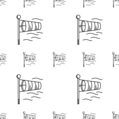 Background for windsock