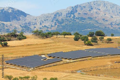 Solar panels - 74214531