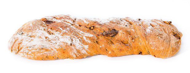Homemade Ciabatta with dried Tomatoes