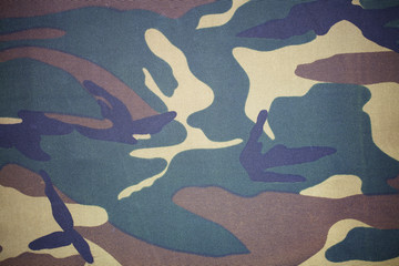 closeup of military uniform surface