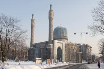 Вид на соборную мечеть Санкт-Петербурга
