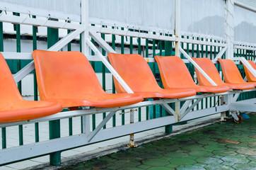 old chair Temporary stadium