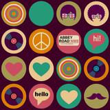 pop art british musical pattern - 74220733