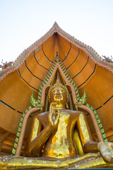 Buddha of temple Buddhist thailand