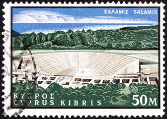 Ancient theatre, Salamis (Cyprus 1964)