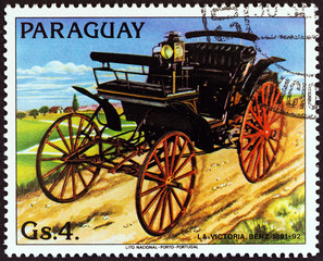 Benz Victory of 1891-92 (Paraguay 1983)
