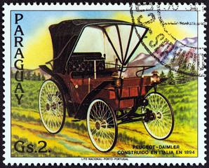 Peugeot-Daimler of 1894 (Paraguay 1983)