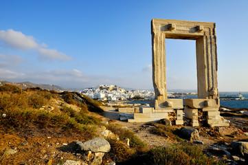 Portara, Naxos island, Greece