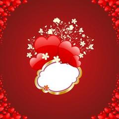 Walentynowa dekoracja,