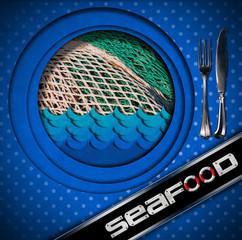 Seafood - Menu Design