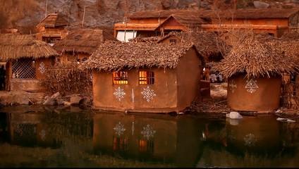 Rural house at Rajasthan India