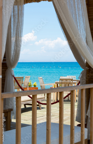 view  the sea from window of House - 74223918