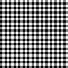 Karo Tischdecken Muster SCHWARZ - endlos