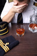 Drunk crying pilot with problems