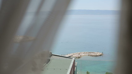 Split Croatia mountains beautiful viewsof the sea from the room