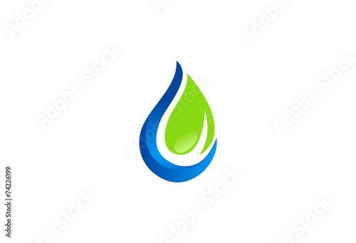 ecology fresh water logo - 74226199