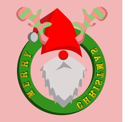 Santa Deer Christmas